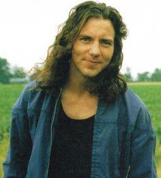 Eddie Vedder...just look at that cute smile! (: