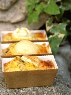 Une recette plutôt light comme je les fais souvent :-) Mini #cakes #chèvre - #courgettes - tomates