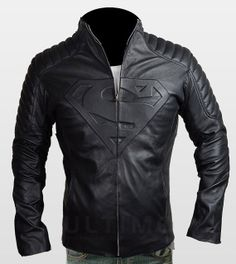 Una chaqueta para mi esposo..... Superman Smallville Sheepskin HandMade Men's by UltimoFashions
