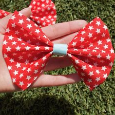 Happy Flag Day everyone! Go check out the All American Bow! Each bow is handmade with care and given individual attention. The link is in my bio or follow me on Instagram @beautybrainsbows !