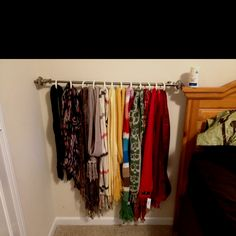 Scarf Organization - feels good to be able to find what I'm looking for :)