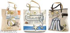 Coach Beach bags handmade-handbags