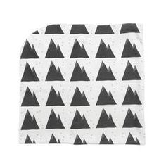 Blanket/Swaddle . Organic - Grey Mountains
