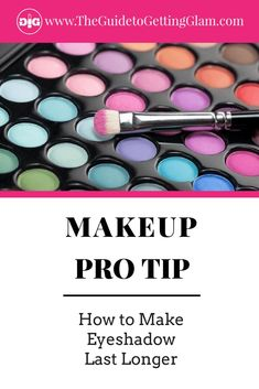 Learn how to make eyeshadow last all day long. Learn this quick makeup artist secret that will prevent eyeshadow from creasing and make it last longer. Quick Makeup, Best Makeup Tips, Makeup Tricks, Party Makeup Looks, Bridal Makeup Looks, Date Night Makeup, Day Makeup, Makeup Kit, Makeup Tools