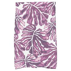 Simply Daisy 30 inch x 60 inch Palm Leaves Floral Print Beach Towels, Purple Kitchen Themes, Kitchen Ideas, Kitchen Decor, Hand Towel Sets, Watercolor Leaves, Kitchen Towels, Beach Towel, Floral Prints, Palm