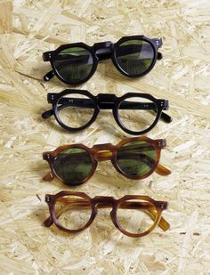 217431e7a02 Unchanging classic colors of vintage glasses Circa  1960s Brand  Lesca  LUNETIER Frame  Vintage