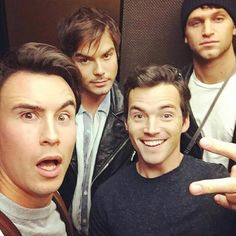 tylerjblackburn Happy #PLLDay from our squad and my resting bitch face