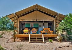 Deluxe South African Safari Tent Rentals in Oudtshoorn, Western Cape Camping 101, Camping Glamping, Luxury Camping, Boutique Camping, South Africa Safari, Waterproof Tent, Lodges, The Great Outdoors, Outdoor Structures
