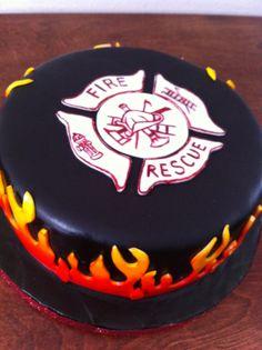 Donna Belle Desserts: Firefighter Cake