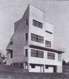 Villa Kramare, Bratislava, Slovakia 1929-1930, architects: Alois Balán and Jiří Grossmann