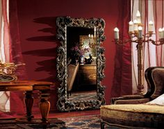 Зеркало напольное Pal Mobili EXELLENCE 854 Размер: 115x8x202см Oversized Mirror, Painting, Furniture, Home Decor, Decoration Home, Room Decor, Painting Art, Paintings, Home Furnishings