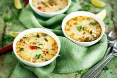 Kókusztejes chilis leves