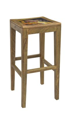 GALLERY BAR STOOL (ABSTRACT)  $165.00