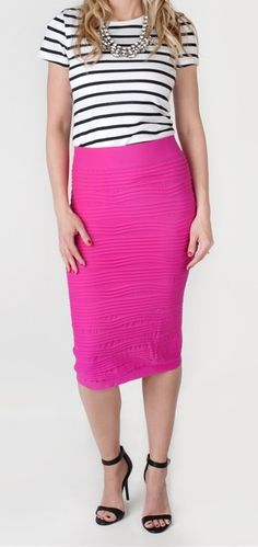 Stretchy Skirts - 11 Colors | Jane