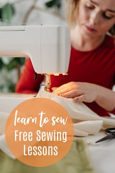 Learn to Sew: Free Online Sewing Classes – Crazy Little Projects Learn to Sew with these free online sewing classes for beginners. Beginning sewing projects along with how to, step by step sewing lessons that are free and easy to access. Sewing Machine Projects, Sewing Projects For Kids, Sewing For Kids, Beginner Sewing Projects, Easy Sewing Patterns, Sewing Tutorials, Sewing Tips, Dress Patterns, Dress Tutorials