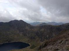 Challenging and pushed outside comfort zone! Horseshoe, Mount Snowdon (Yr Wyddfa) Summit in Llanberis, Gwynedd - Sept 14