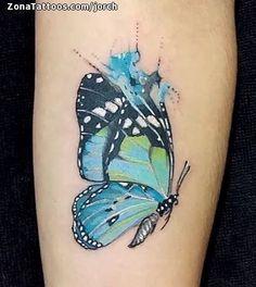 Tatuaje hecho por Jorge Díaz, de Ciudad de México. Si quieres ponerte en contacto con él para un tatuaje o ver más trabajos suyos visita su perfil: http://www.zonatattoos.com/jorch    Si quieres ver más tatuajes de mariposas visita este otro enlace: http://www.zonatattoos.com/tatuaje.php?tatuaje=106243