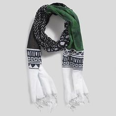 Image for PRINTED SCARF from Tommy Hilfiger USA ~all proceeds go to the Millennium Promise in Uganda, Africa