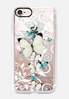 W Butterfly iPhone 7 Case by Li Zamperini | Casetify