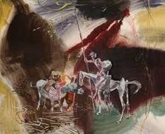Výsledek obrázku pro vladimír sychra obrazy Painting, Art, Atelier, Art Background, Painting Art, Kunst, Paintings, Performing Arts, Painted Canvas