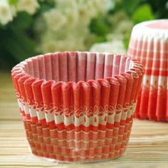 Wholesale Red Printing Paper Cup Chocolate Cake Pop Molds