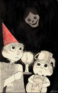 """katietheslayer: """" """"I told you boys to stay away from her…now you've gone and made her wicked again."""" Over the Garden Wall is so fantastic, and so here I am drawing fanart of it, aaahh! The Ringing of..."""
