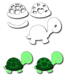 Frantic Stamper Precision Die - Baby Turtle,$13.99