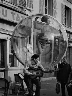 "Melvin Sokolsky - 1963 Harper's Bazaar ""Bubble"" Series"