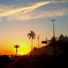 Sunset , Leblon - Rio de Janeiro