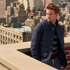 Looking for higher ground. (And that perfect between-season jacket, of course.)