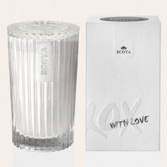 Freshness of citrus and leafy green notes to create a warm, mossy floral heart on a rich, creamy base of Sandalwood, Vanilla, Balsams and Musk.The Celebration Candle by ECOYA. Light me to honour, to remember, to celebrate