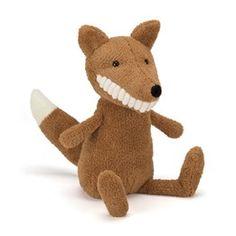 Köp Jellycat - Toothy Fox - Gosedjur direkt på nätet hos Litenleker.se. Designade leksaker levereras direkt hem till dörren. Välkommen!