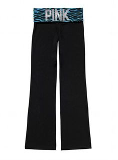Vistoria's Secret PINK Bling Bootcut Yoga Pant, $39.50  Already have the matching Yoga Bra, yeayy<3