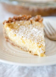 Crack Pie from the Momofuku Milk Bar cookbook. love this just bc its called crack pie! Pie Recipes, Sweet Recipes, Dessert Recipes, Cooking Recipes, Dessert Healthy, Dessert Food, Yummy Treats, Sweet Treats, Yummy Food