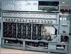 The U.S. Navy's Cryptanalytic Bombe is the culmination of years of work and the efforts of mathematicians and engineers from Poland, England, and the United States. It was the solution to the problem of the German's World War II cipher machine Enigma, and it led to the Allies' successes in the battle of the Atlantic and the war in Europe.