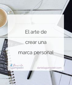 Crear una marca personal es un arte, ya que incluye la esencia de tu negocio. Marca Personal, Personal Branding, Business Branding, Business Marketing, Social Networks, Social Media Marketing, Life Coach Certification, Blogging, Business Inspiration