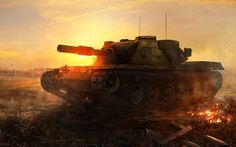Download wallpapers MBT-70, WoT, tanks, KPz 70, World of Tanks Blitz