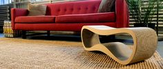 Now, Modko, a Brooklyn based design-house together with myKitty from Poland, are offering two beautifully designed pieces of modern furniture that cats can scratch, play, rest and sleep on. The one piece is called Lui and the other Vigo.