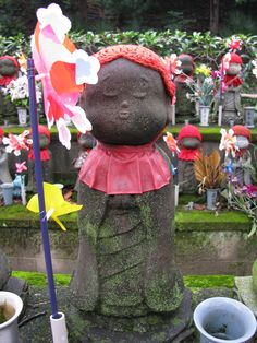 Tokyo - Shiba Koen / Senzoji - For the children who have been lost - incredibly sad but also beautiful.