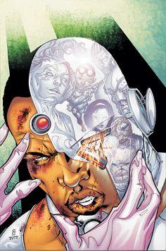 #Cyborg #Fan #Art. (DC Special Cyborg #1 Cover) By: Matthew Clark. ÅWESOMENESS!!!