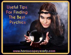 Useful Tips For Finding The Best Psychics - You need to know that there's always one rating system available to use, which is stated to display all rates that the clients will have to do with the psychic. By evaluating this way, it seems much better and easier for people to locate a qualified psychic reader. And you will be able to find that evaluation right in their profiles online. Learn More Here: http://www.horoscopeyearly.com/finding-the-best-psychics/