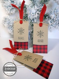 Hi Friends, I love this time of year with the sweaters, scarves, boots and flannel! Today, DT Lisa creates a fabulous flannel print gif. Christmas Gift Wrapping, Christmas Paper, Diy Christmas Gifts, Christmas Tags Handmade, Christmas Stockings, Printable Christmas Cards, Xmas Cards, Handmade Gift Tags, Diy Gift Tags