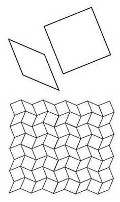 Free English Paper Piecing 8 Point Diamonds and Squares Pattern