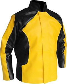 Cole Macgrath Game Infamous Leather Jacket at Amazon Men's Clothing store: