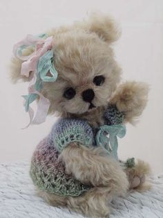 **Amelie by By skye rose bears | Bear Pile