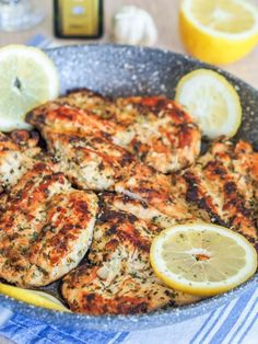 This bright bold Mediterranean Chicken Breasts recipe full of lemon oregano and garlic is perfect for your weekday sandwiches salads and bowls. Mediterranean Diet Meal Plan, Mediterranean Dishes, Mediterranean Chicken Marinade, Clean Eating, Healthy Eating, Comida Keto, Cooking Recipes, Healthy Recipes, Cooking Rice