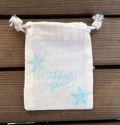 10 Seestern danken Sie Tasche, Hochzeit gefallen Strandtasche, Strandtasche Hochzeit Danke, danke-Taschen, kleines Dankeschön Taschen von EverlongEvents auf Etsy https://www.etsy.com/de/listing/206193748/10-seestern-danken-sie-tasche-hochzeit