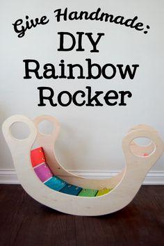 DIY Rainbow Rocker