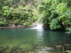 Raparapahoe falls, New Zealand