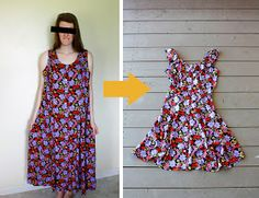 Love this cute summer dress alteration from Elvira's!